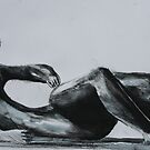 Study From Henry Moores-Relining Figure 1982 by Josh Bowe