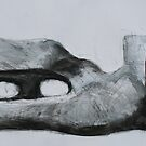 Study From Henry Moores-Relining Figure 1959-64 by Josh Bowe