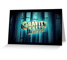 "Gravity Falls- ""Enter If You Dare..."" Greeting Card"