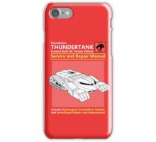 Thundertank Service and Repair Manual iPhone Case/Skin