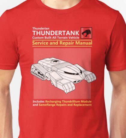 Thundertank Service and Repair Manual Unisex T-Shirt