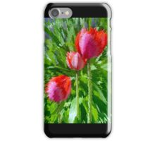 Abstract Tulips.... iPhone Case/Skin