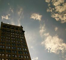 Building in The City by Rita James
