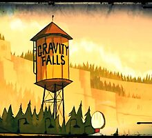 """Gravity Falls- """"Water Tower"""" by SirOrin"""