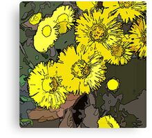 Spring is just DANDY! Canvas Print