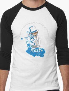 Kaito Kid - Don't forget the Poker Face! Men's Baseball ¾ T-Shirt