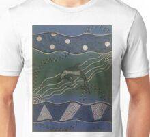 Australian Aboriginal Dolphin Unisex T-Shirt