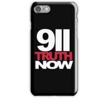 9/11 Truth Now iPhone Case/Skin