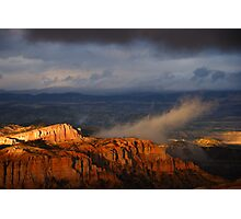 Bryce Canyon Storm Photographic Print