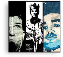 Ian Curtis/Morrissey/Dave Gahan  Canvas Print