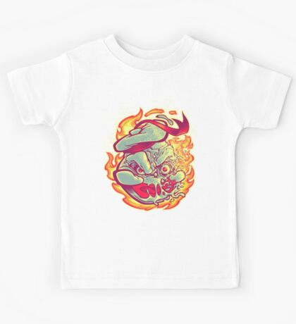 ROASTED MARSHMALLOW MAN Kids Tee