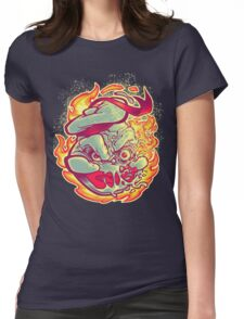 ROASTED MARSHMALLOW MAN Womens Fitted T-Shirt