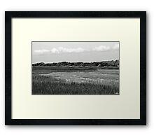 """""""Marsh"""" Low Tide Framed Print"""