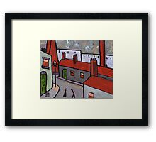 Industrial Town  Framed Print