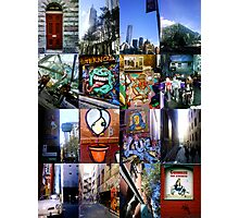 melbourne by mobile Photographic Print