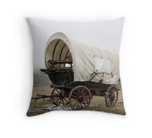 An'  Wheres Cookie? The Chuck Wagon   Throw Pillow