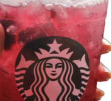 starbucks drink Sticker