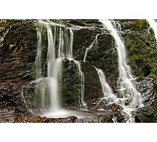 Dead Creek Falls - Side Stream Photographic Print