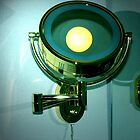 BATHROOM LAMP by gracestout2007