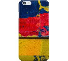 Blue, Red and Yellow iPhone Case/Skin