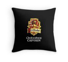 Gryffindor Quidditch Captain Throw Pillow