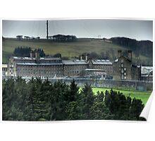 Dartmoor Prison (Colour) Poster