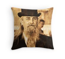 wild bill Throw Pillow