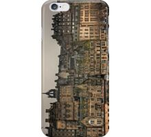 Crowded Old Town iPhone Case/Skin