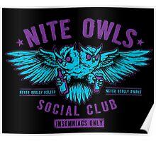 Nite Owls Social Club Poster