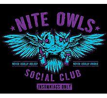 Nite Owls Social Club Photographic Print