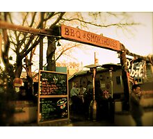 Cowgirl BBQ - Diner In Santa Fe, Albuquerque -2009 *Featured Photographic Print