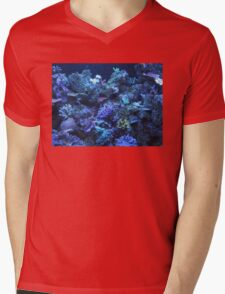 Coral Reef With Fish Mens V-Neck T-Shirt
