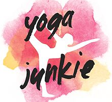 Yoga Junkie by laurauroraa