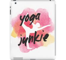 Yoga Junkie iPad Case/Skin
