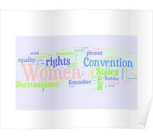 Elimination of Discrimination against Women Poster