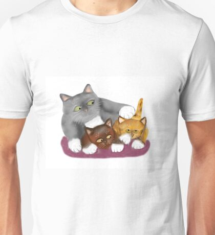 Stop that meows Momma Cat Unisex T-Shirt