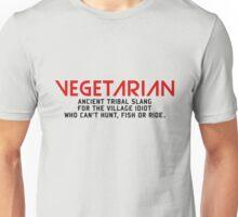 Vegetarian Ancient Tribal Slang Unisex T-Shirt