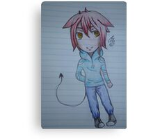 Lucifer Chibi Canvas Print