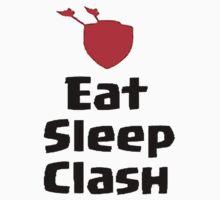 EAT , SLEEP, CLASH by giftshop