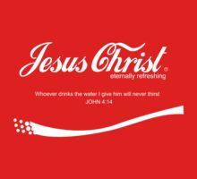 Jesuc Christ - Coca Cola by teeshirtninja