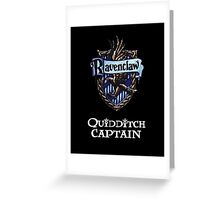 Ravenclaw Quidditch Captain Greeting Card