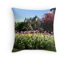 Lower Gardens, Bournemouth 2 Throw Pillow