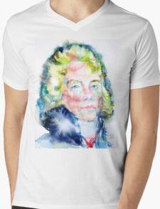 CHARLES MAURICE de TALLEYRAND-PERIGORD - watercolor portrait Mens V-Neck T-Shirt