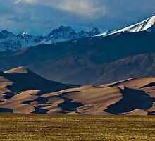 The Great Sand Dunes and the Sangre De Cristos by Paul Gana