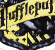 Hufflepuff Quidditch Captain Sticker