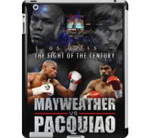 Pacquiao vs Mayweather iPad Case/Skin