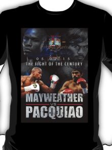Pacquiao vs Mayweather T-Shirt