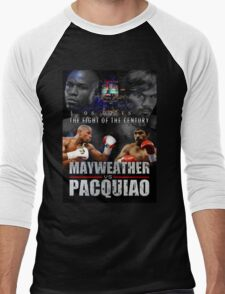 Pacquiao vs Mayweather Men's Baseball ¾ T-Shirt