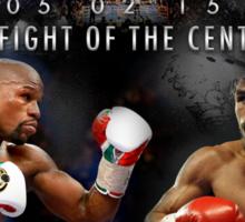 Pacquiao vs Mayweather Sticker