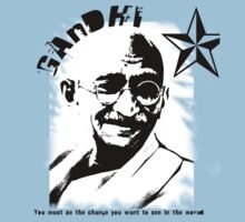 Mahatma Gandhi by sandy1984